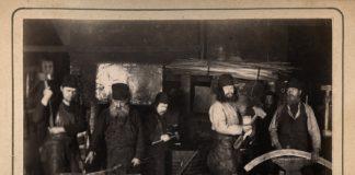 Кузница Валаамского монастыря, 1890-е годы. Из коллекции Сергея Максимишина