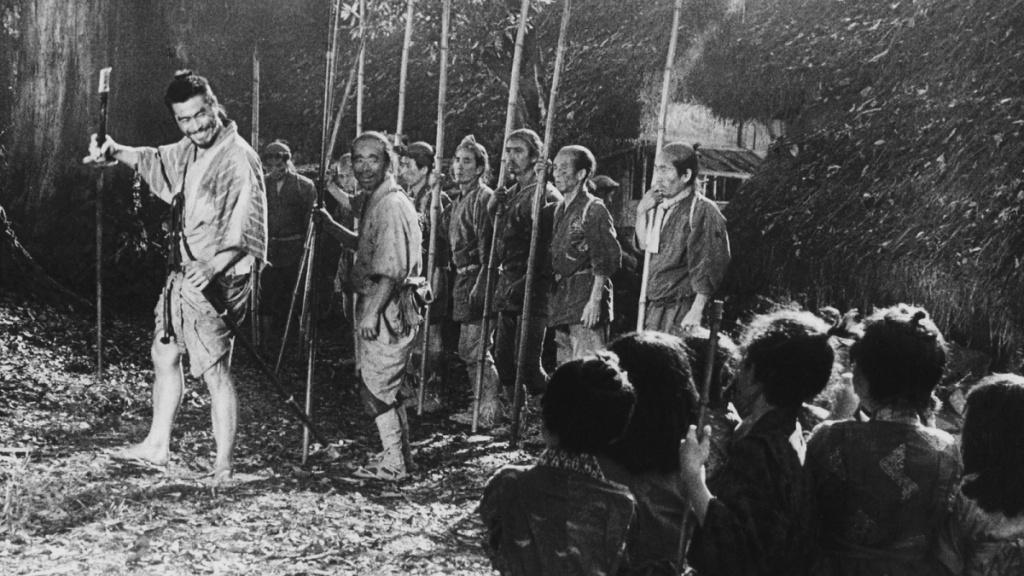 кадр из фильма Семь самураев